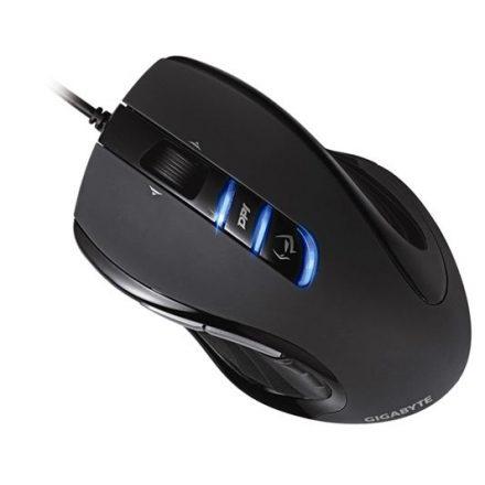 Gigabyte GM-M6980X lézer USB fekete Egér (2 év garancia)