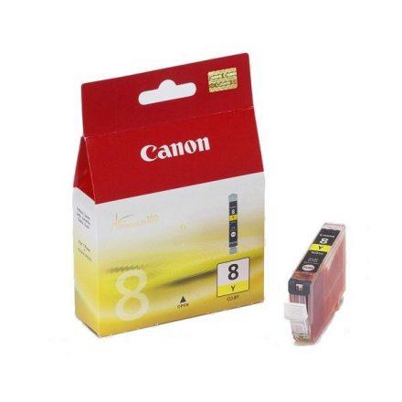 Canon CLI-8Y sárga (0623B001) eredeti tintapatron (1 év garancia)