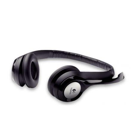 Logitech H390 fekete mikrofonos Fejhallgató/Headset (2 év garancia)