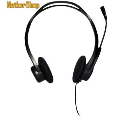 Logitech PC 960 fekete mikrofonos USB Fejhallgató/Headset (2 év garancia)