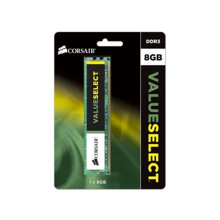 Corsair 8GB DDR3 1600MHz CMV8GX3M1A1600C11 Value Memória (3 év garancia)