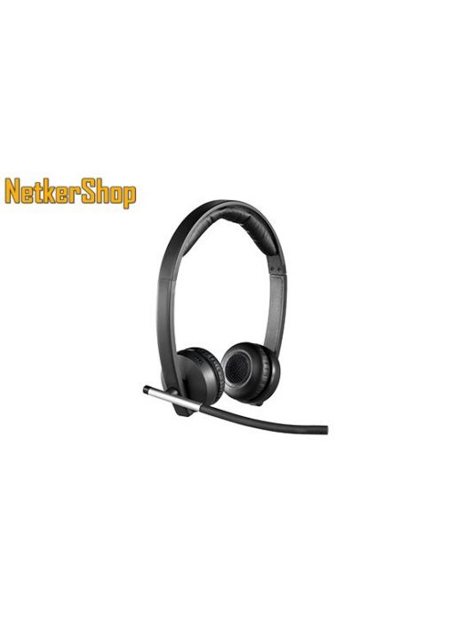 Logitech H820E Dual vezeték nélküli szürke mikrofonos USB Fejhallgató/Headset (2 év garancia)