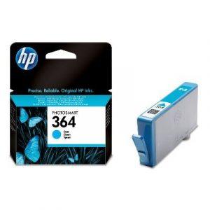 HP CB318EE (364) Cyan eredeti tintapatron (1 év garancia)