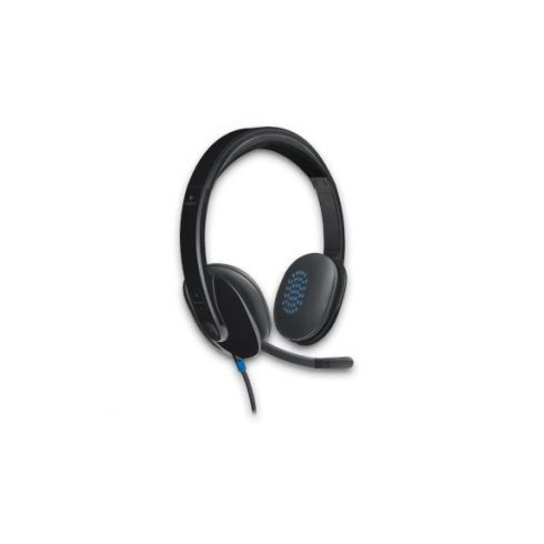 Logitech H540 fekete mikrofonos Fejhallgató/Headset (2 év garancia)