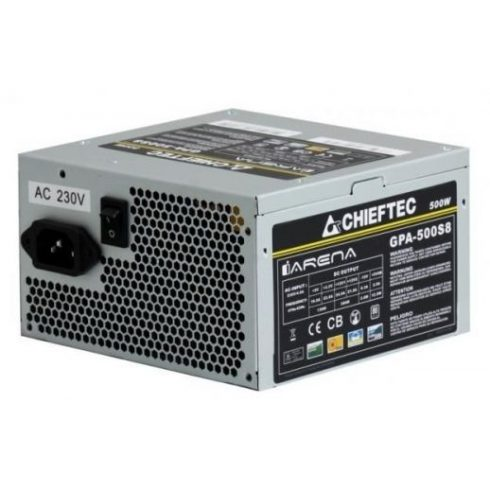 Chieftec IArena GPA-500S8 500W 12cm Oem Tápegység (3 év garancia)