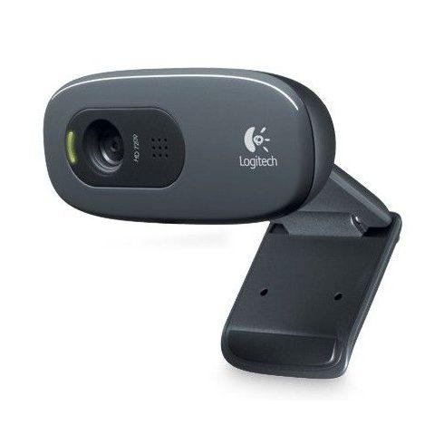 Logitech C270 HD 720p fekete USB mikrofonos webkamera (2 év garancia)