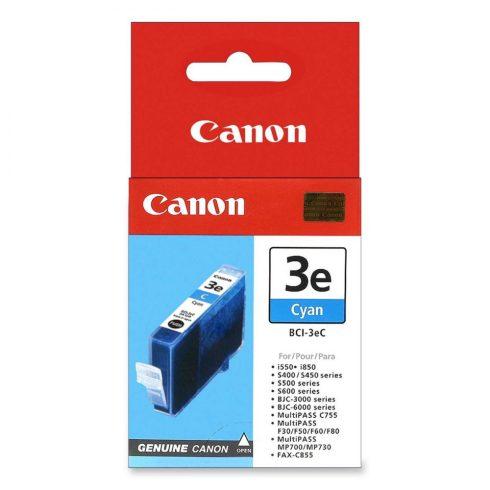 Canon BCI-3eC Cián eredeti tintapatron (1 év garancia)