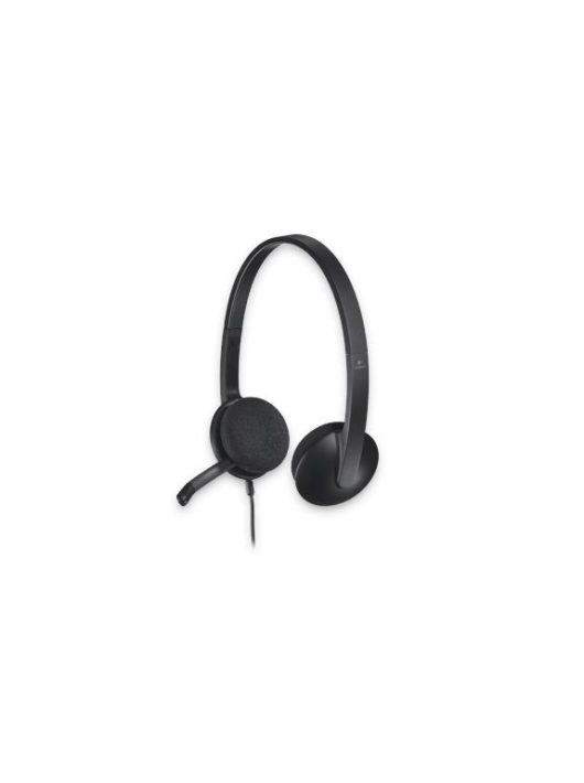 Logitech H340 fekete mikrofonos Fejhallgató/Headset (2 év garancia)