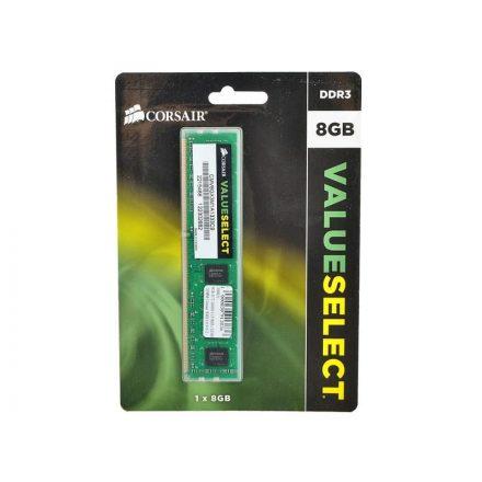 Corsair 8GB DDR3 1333MHz CMV8GX3M1A1333C9 Value Memória (3 év garancia)