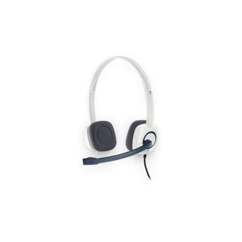 Logitech H150 Stereo fehér mikrofonos Fejhallgató/Headset (2 év garancia)