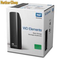 """WESTERN DIGITAL WDBWLG0040HBK 4TB Elements 3,5"""" USB 3.0 fekete külső Merevlemez, HDD, Winchester (2 év garancia)"""