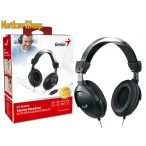 Genius HS-M505X fekete mikrofonos Fejhallgató/Headset (1 év garancia)