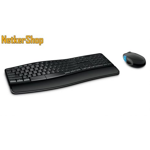 Microsoft Desktop Sculpt Comfort wireless USB HUN fekete billentyűzet + egér combo (3 év garancia)