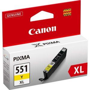 Canon CLI-551Y XL Sárga eredeti tintapatron (1 év garancia)