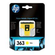 HP C8773EE (363) sárga eredeti tintapatron (1 év garancia)