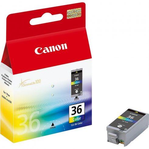 Canon CLI-36 szines eredeti tintapatron (1 év garancia)