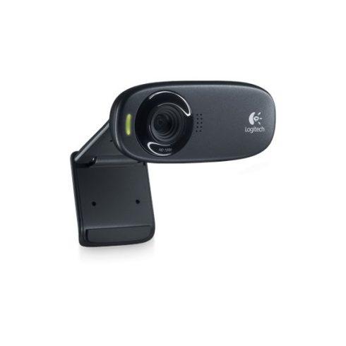Logitech HD C310 720p fekete USB mikrofonos webkamera (2 év garancia)