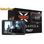 """Wayteq x985BT HD GPS (WX985BT) 5"""" 8GB Bluetooth Igo kompatibilis térkép nélkül (1 év garancia)"""