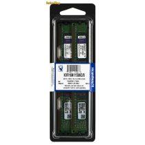 Kingston 8GB DDR3 1600MHz (KVR16N11S8K2/8) Kit 2x4GB CL11 Memória (3 év garancia)