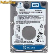 "WESTERN DIGITAL WD5000LPCX 500GB 2,5"" 5400rpm 16MB SATA3 notebook Merevlemez, HDD, Winchester (2 év garancia)"