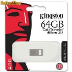 Kingston 64GB DT micro 3.1 USB3.1 ezüst Pendrive (5 év garancia)