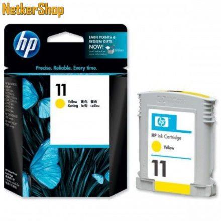 HP C4838AE (11) Yellow eredeti tintapatron (1 év garancia)