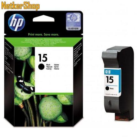 HP C6615DE (15) fekete eredeti tintapatron (1 év garancia)