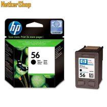 HP C6656AE (56) fekete eredeti tintapatron (1 év garancia)