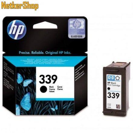 HP C8767EE (339) fekete eredeti tintapatron (1 év garancia)