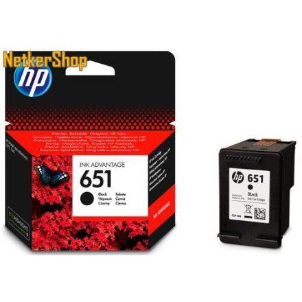 HP C2P10AE (651) fekete eredeti tintapatron (1 év garancia)