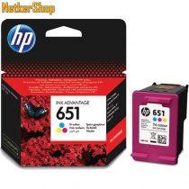HP C2P11AE (651) szines eredeti tintapatron (1 év garancia)