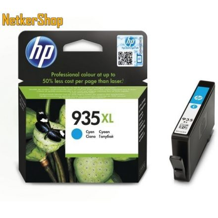 HP C2P24AE (935XL) Cyan eredeti tintapatron (1 év garancia)