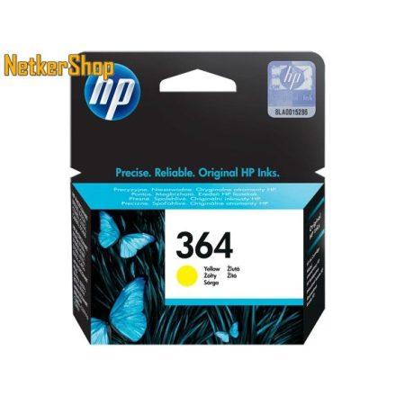 HP CB320EE (364) Yellow eredeti tintapatron (1 év garancia)