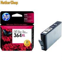 HP CB322EE (364XL) Photo fekete eredeti tintapatron (1 év garancia)
