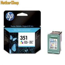 HP CB337EE (351) szines eredeti tintapatron (1 év garancia)