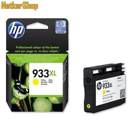 HP CN056AE (933XL) Yellow eredeti tintapatron (1 év garancia)