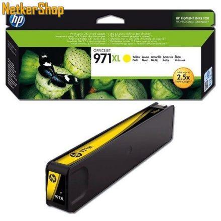 HP CN628AE (971XL) Yellow eredeti tintapatron (1 év garancia)