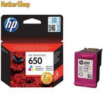 HP CZ102AE (650) szines eredeti tintapatron (1 év garancia)