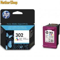 HP F6U65AE (302) szines eredeti tintapatron (1 év garancia)