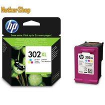 HP F6U67AE (302XL) szines eredeti tintapatron (1 év garancia)