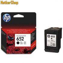HP F6V25AE (652) fekete eredeti tintapatron (1 év garancia)