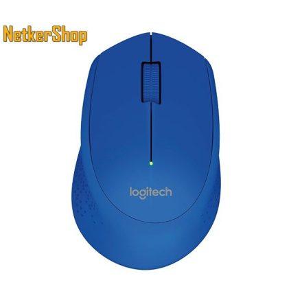 Logitech M280 kék optikai vezeték nélküli USB Egér (2 év garancia)