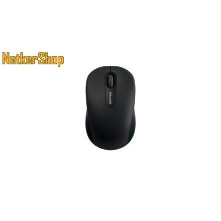 Microsoft Mobile Mouse 3600 Bluetooth vezeték nélküli BlueTrack fekete Egér (1 év garancia)