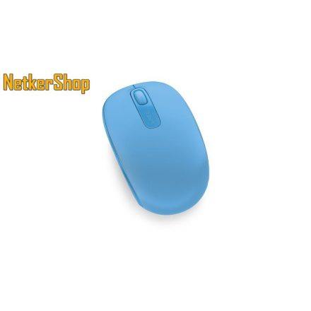Microsoft Wireless Mobil Mouse 1850 vezeték nélküli optikai cián USB Egér (1 év garancia)
