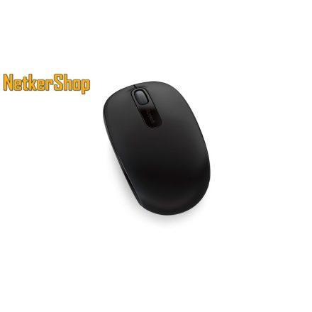 Microsoft Wireless Mobil Mouse 1850 vezeték nélküli optikai fekete USB Egér (1 év garancia)
