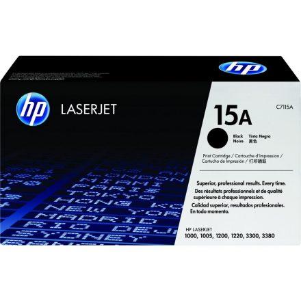 HP C7115A (15A) fekete eredeti toner (1 év garancia)