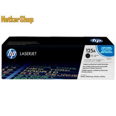 HP CB540A (125A) fekete eredeti toner (1 év garancia)