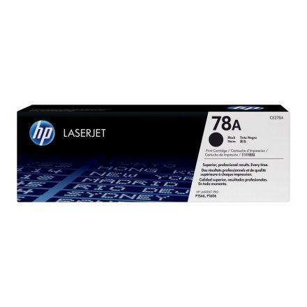 HP CE278A (78A) fekete eredeti toner (1 év garancia)