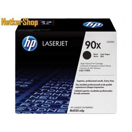 HP CE390X (90X) fekete eredeti toner (1 év garancia)