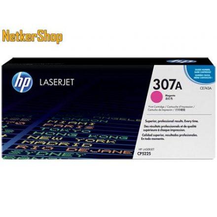 HP CE743A (307A) Magenta eredeti toner (1 év garancia)